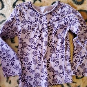 Old Navy purple long sleeve top Size 4t